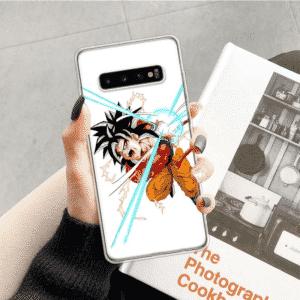 Goku Powerful Kamehameha Attack Samsung Galaxy S10 Case