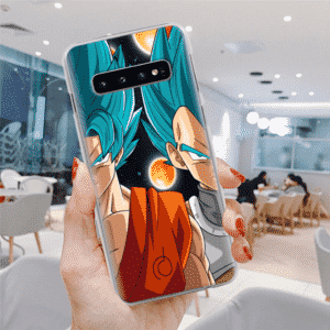 Goku & Vegeta Four-Star Dragon Ball Samsung Galaxy S10 Case