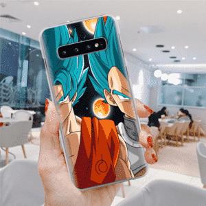 Goku & Vegeta Four-Star Dragon Ball Samsung Galaxy S10 Case