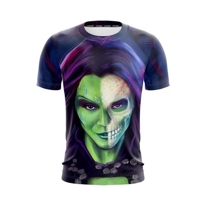 Guardians Of The Galaxy Gamora Zen Whoberi Ben Titan T-Shirt