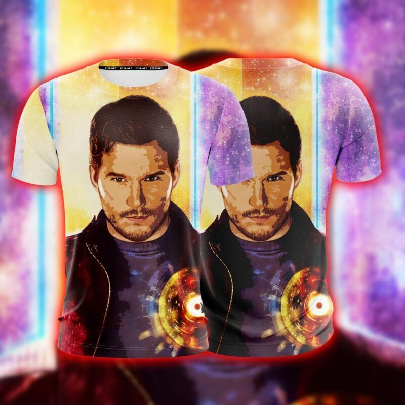 Guardians Of The Galaxy Star-Lord Peter Jason Quill T-shirt