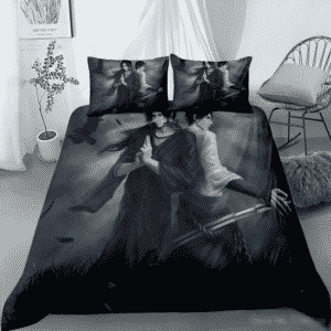 Itachi Uchiha And Sasuke Uchiha Dope Fan Art Bedding Set