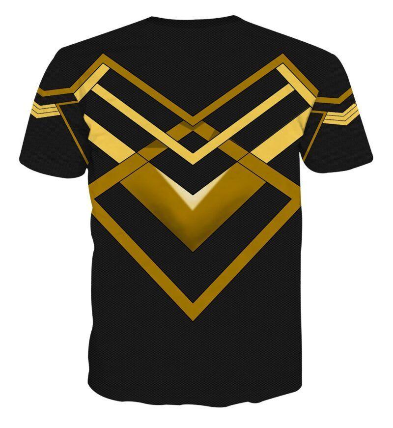 Marvel Black Panther Erik Killmonger N'Jadaka Cosplay T-Shirt