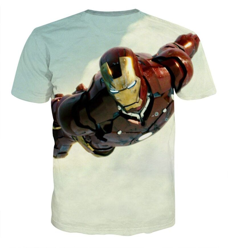 Marvel Comics The Intense Iron Man Full Print T-shirt