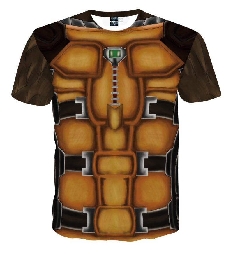 Marvel Guardians Of The Galaxy Rocket Raccoon Cosplay T-Shirt