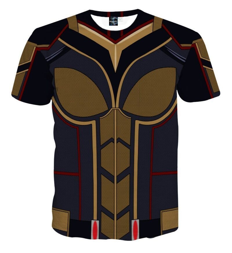 Marvel Magnificent The Wasp Hope Van Dyne Cosplay T-Shirt