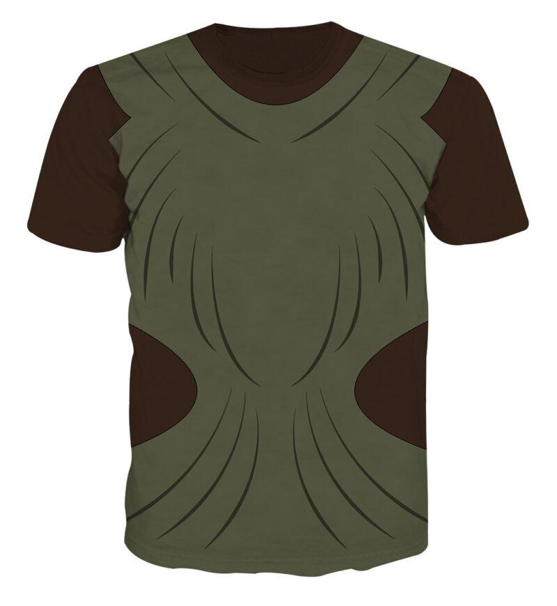 Marvel Nakia Wakanda Spy War Dogs Battle Suit Cosplay T-Shirt
