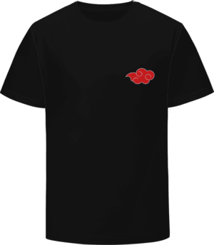 Naruto Anime Akatsuki Daybreak Red Cloud Symbol Logo T-Shirt