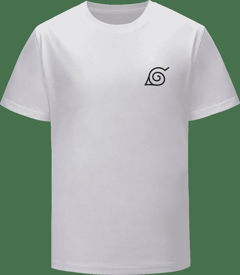 Naruto Hidden Leaf Village Konoha Symbol Logo T-Shirt