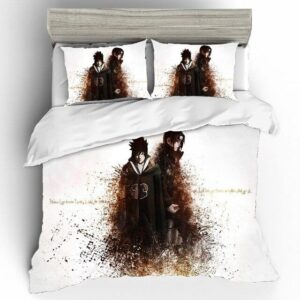 Sasuke And Itachi Sibling Portrait Fan Art Bedding Set