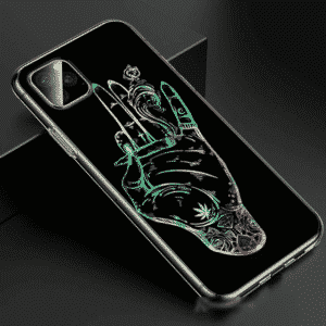Awesome Weed Cigarette Smoking iPhone 11 (Pro & Pro Max) Case