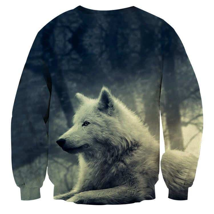 Wolverine Authentic Portrait Impressive Design Sweatshirt