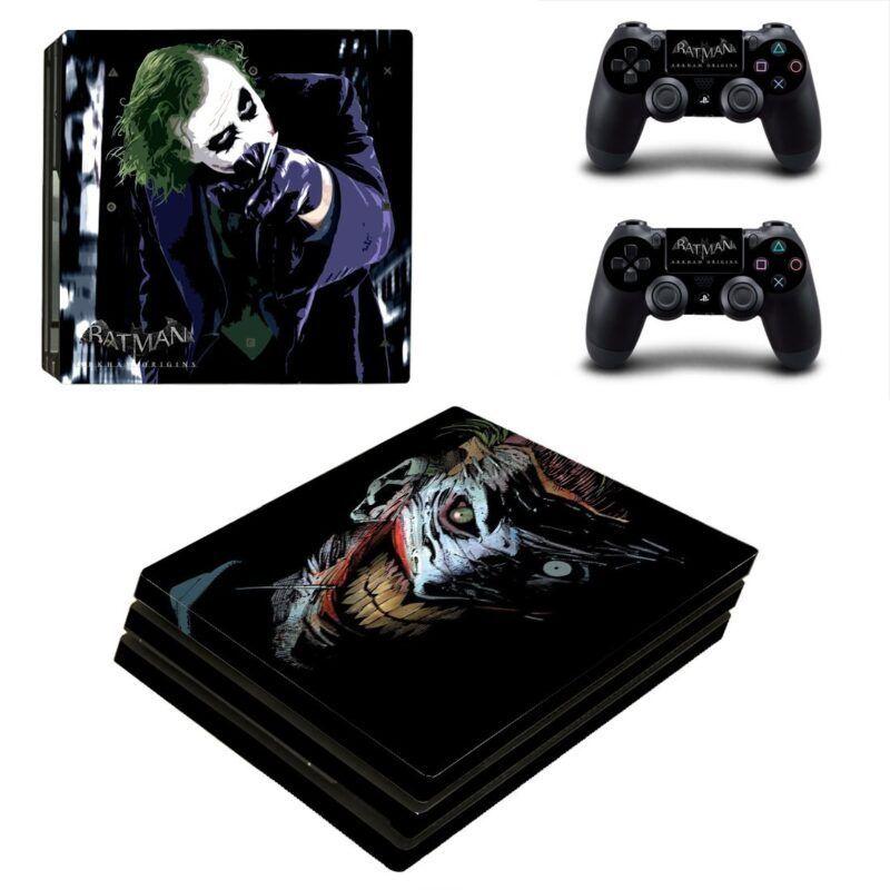 The Joker Villian Stunning Posture Dope PS4 Pro Console Skin