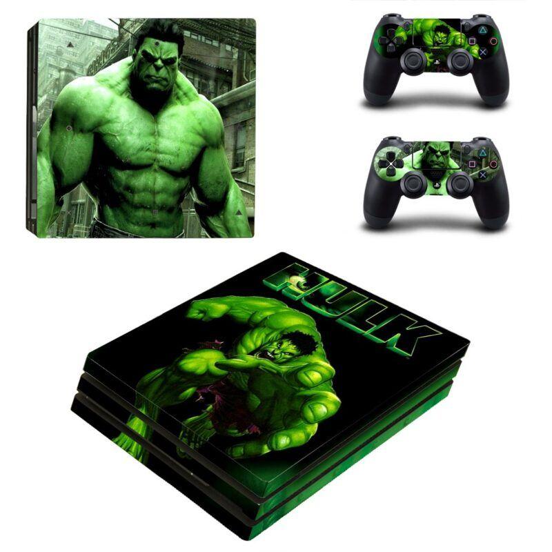 Marvel The Hulk Powerful Dope Posture PS4 Pro Skin