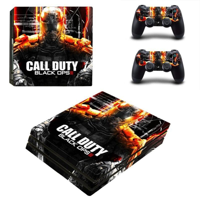 Call of Duty Black Ops III Breathtaking Poster PS4 Pro Skin