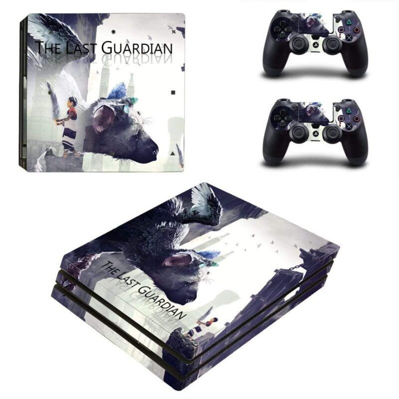 Action-Adventure Video Game The Last Guardian PS4 Pro Skin