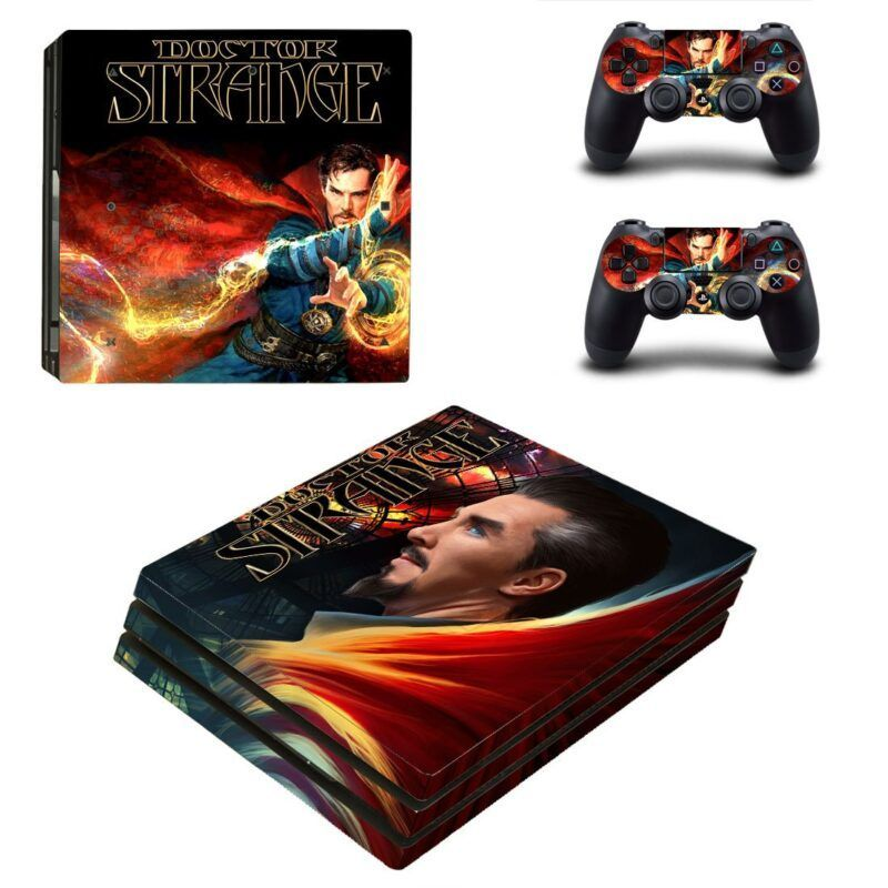 Marvel Sorcerer Supreme Doctor Strange PS4 Pro Skin