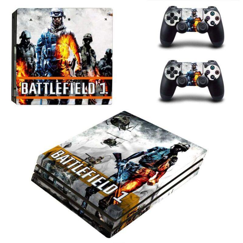 Battlefield 1 Bravely Soldier Dope Scenario PS4 Pro Skin