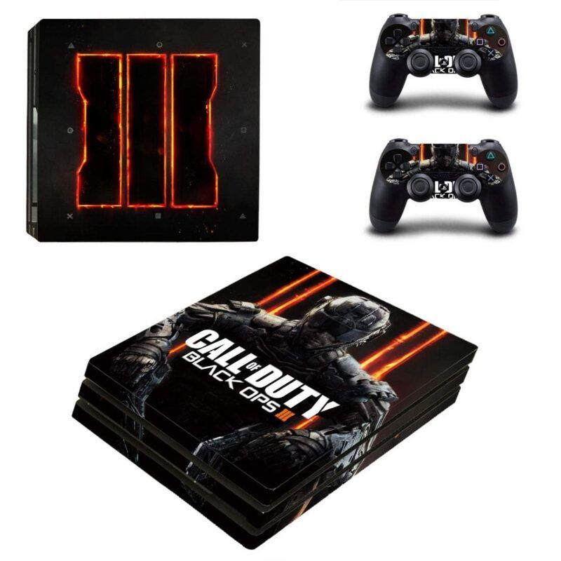 Call Of Duty Black Ops 3 Symbol Cyber Soldier PS4 Pro Skin