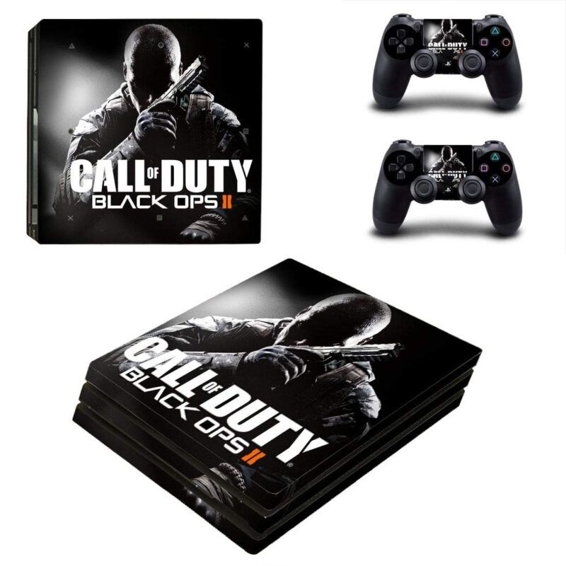 Call of Duty Black Ops II Amazing Cool Poster PS4 Pro Skin