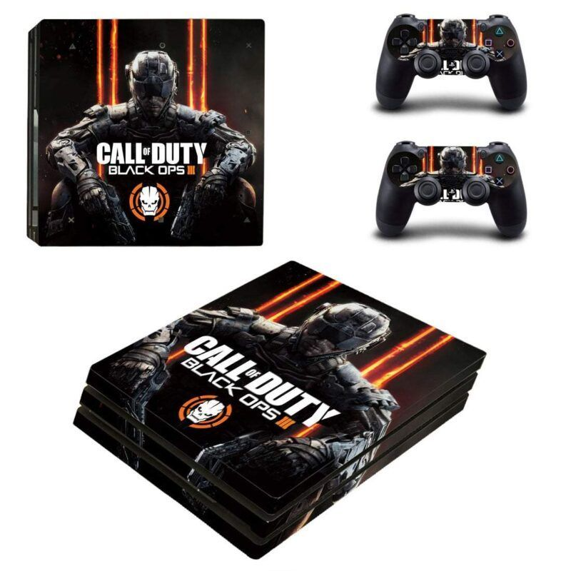 Call Of Duty Black Ops 3 Cyber Soldier Skull PS4 Pro Skin
