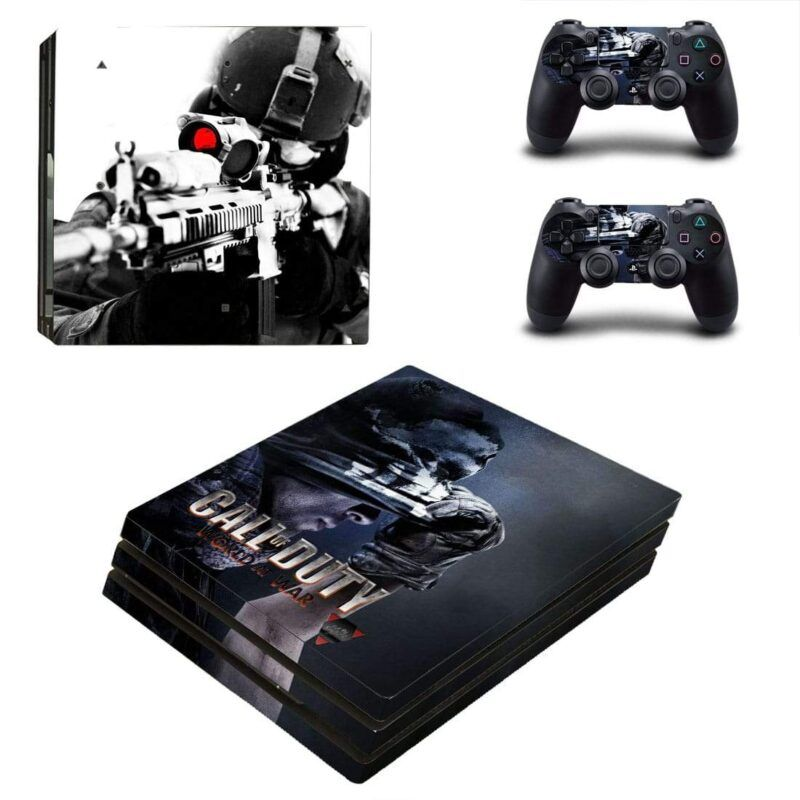 Call Of Duty World War Sniper Ghosts Simon PS4 Pro Skin