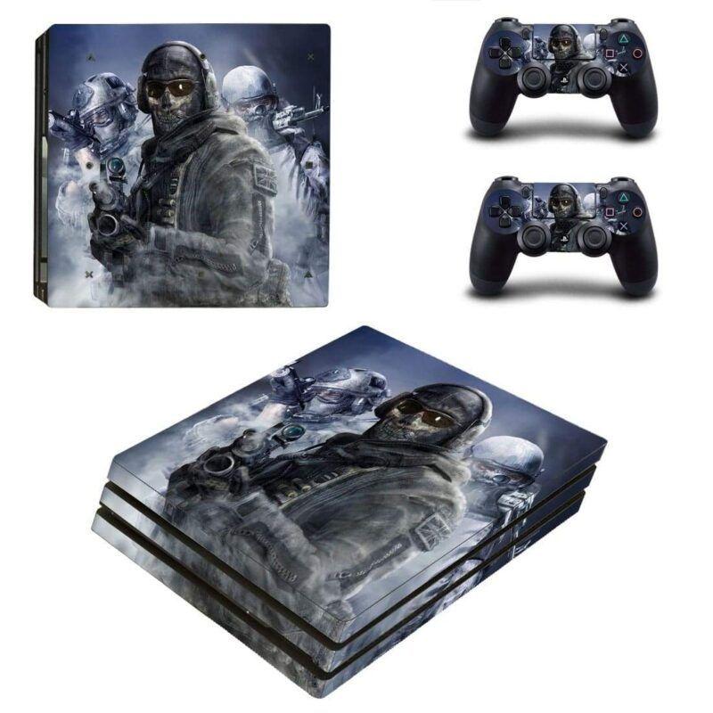 Call Of Duty Modern Warfare Simon Ghost Riley PS4 Pro Skin