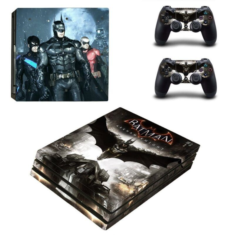 Batman Arkham Knight Gotham Hero Cool PS4 Pro Skin