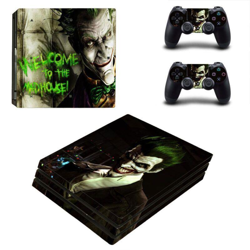 The Joker Quotes Cool Fan Art PS4 Pro Skin