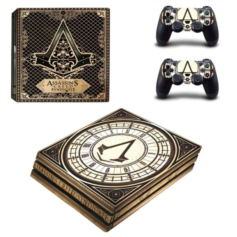 Assassin's Creed Syndicate Action Game Dope PS4 Pro Skin