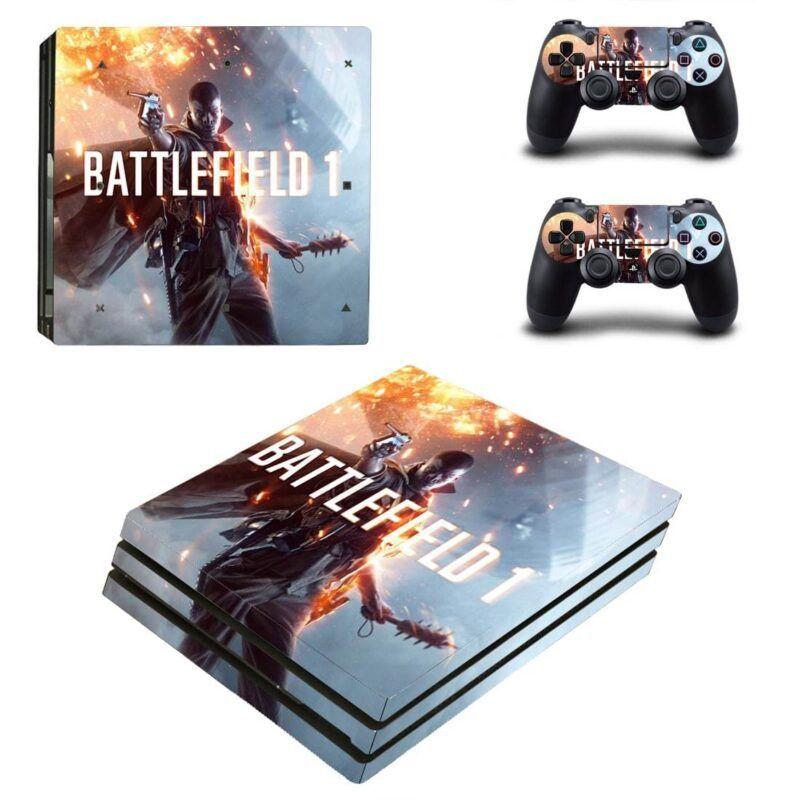 Battlefield 1 Stunning Soldier Vibrant Battle PS4 Pro Skin