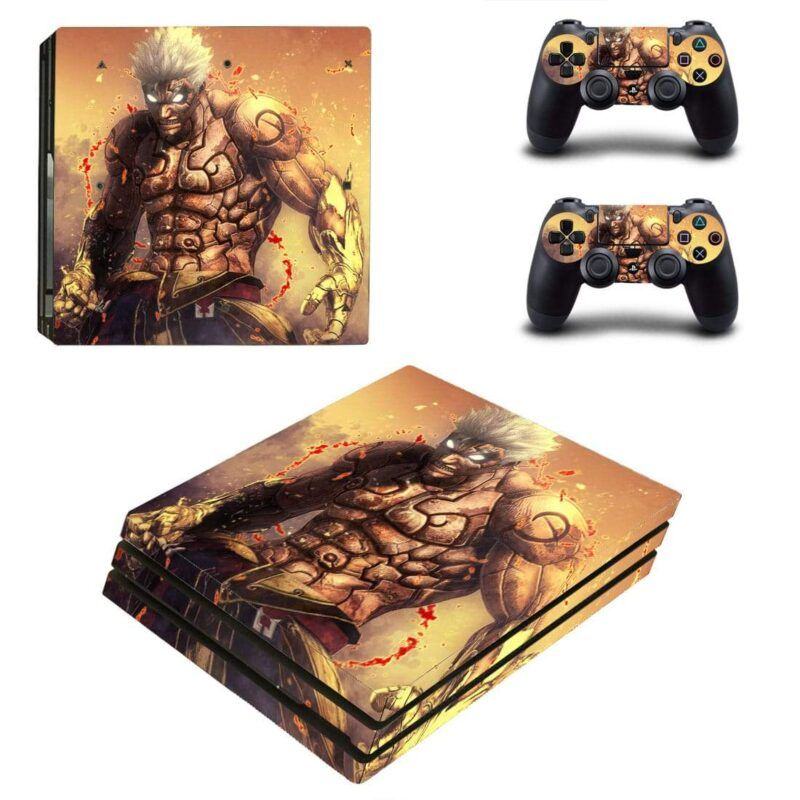 Asura's Wrath Character Action Video Game PS4 Pro Skin