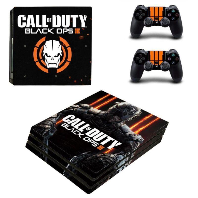 Call of Duty Black Ops III Skull Symbol Dope PS4 Pro Skin