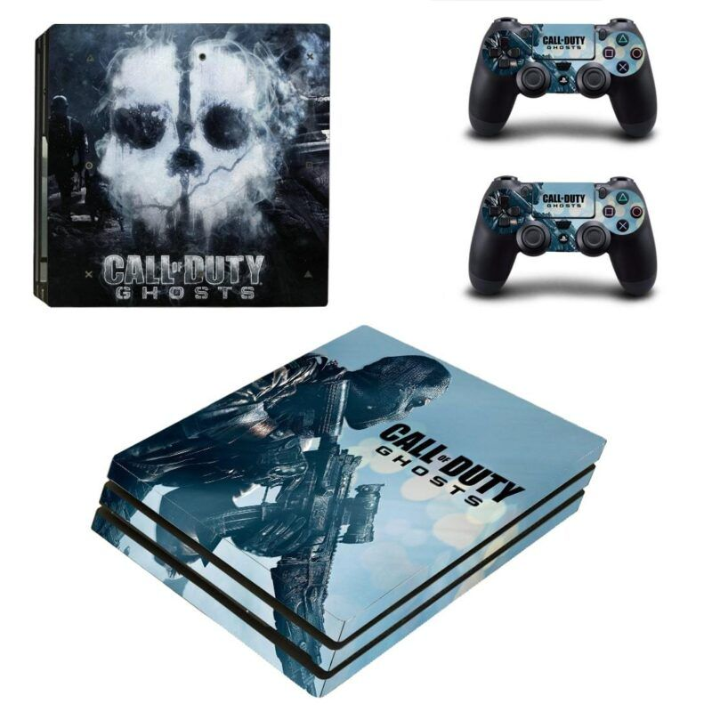 Call of Duty Ghosts Mysterious Cool Poster PS4 Pro Skin