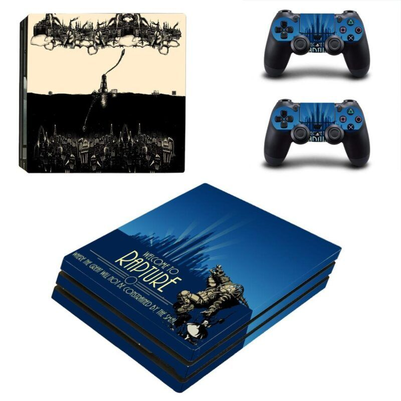 BioShock Welcome to Rapture Scary Big Daddy PS4 Pro Skin