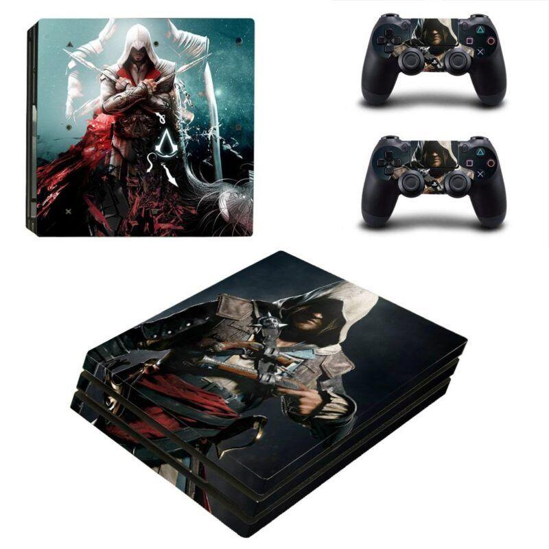 Assassin's Creed Ezio & Edward Deadly Assassins PS4 Pro Skin