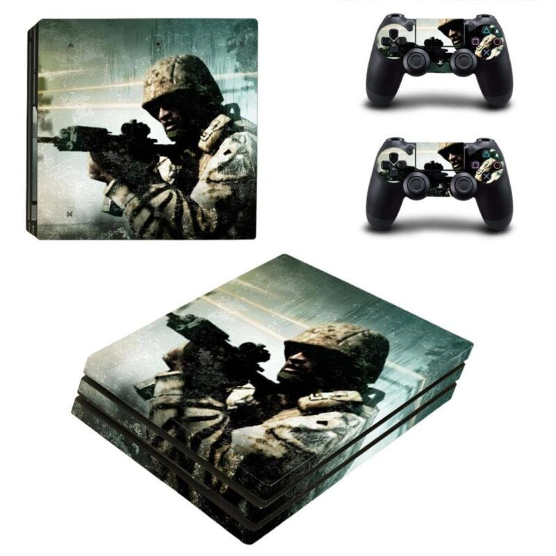 Call Of Duty Strike Team Brave Soldier Vintage PS4 Pro Skin