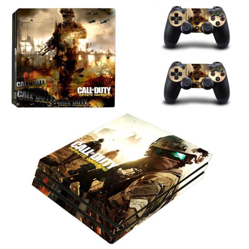 Call of Duty Infinite Warfare Vibrant Battle PS4 Pro Skin