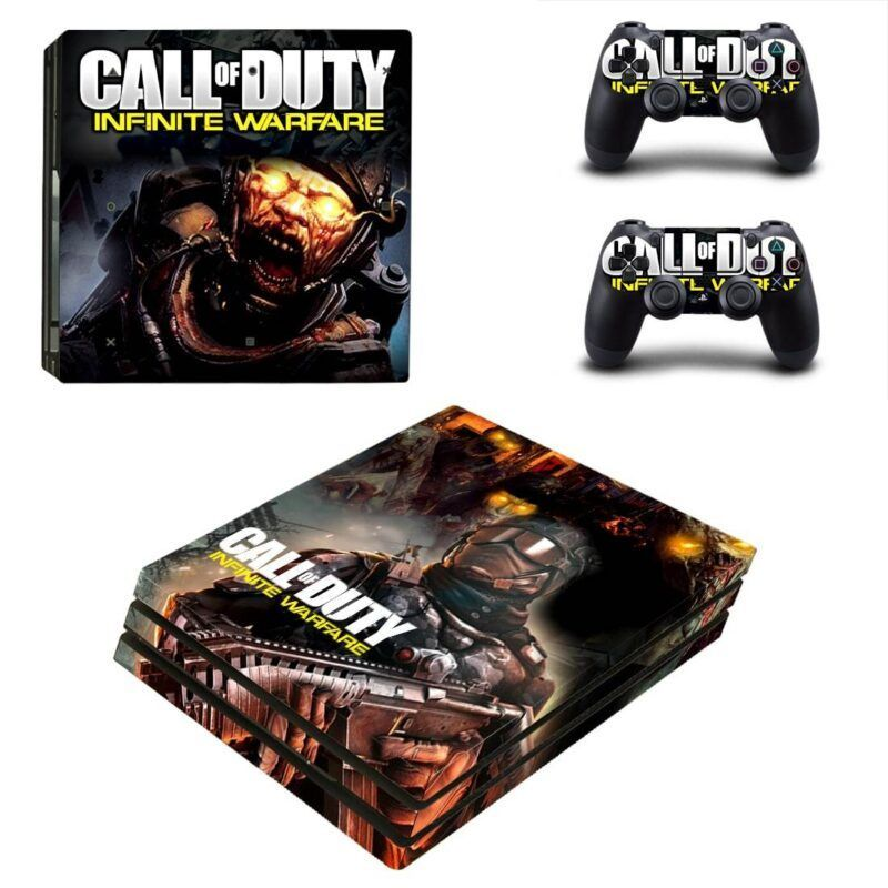 Call of Duty Infinite Warfare Scary Zombies PS4 Pro Skin