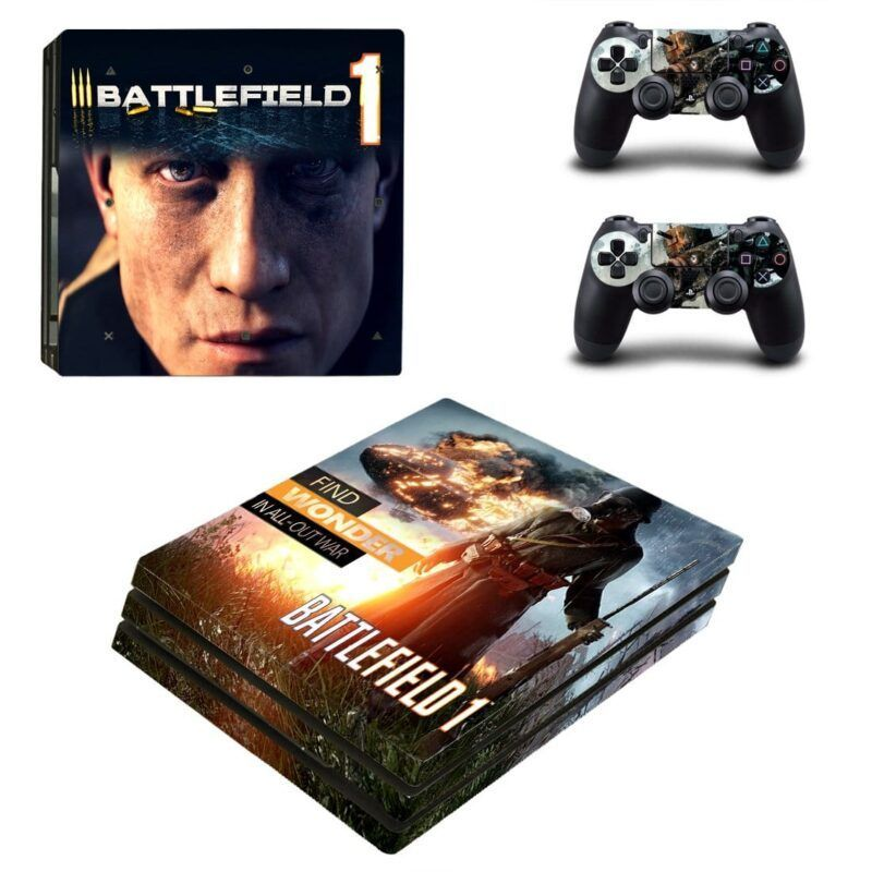 Battlefield 1 Awesome All Out War Design PS4 Pro Skin