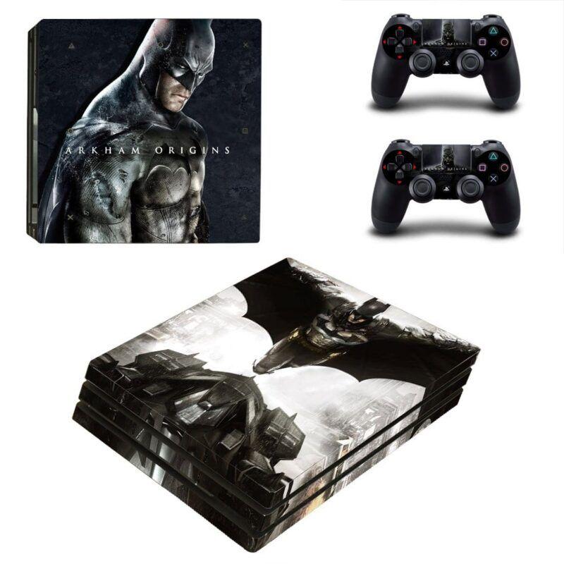 Batman Arkham Origins The Batmobile Flying Batman PS4 Pro Skin