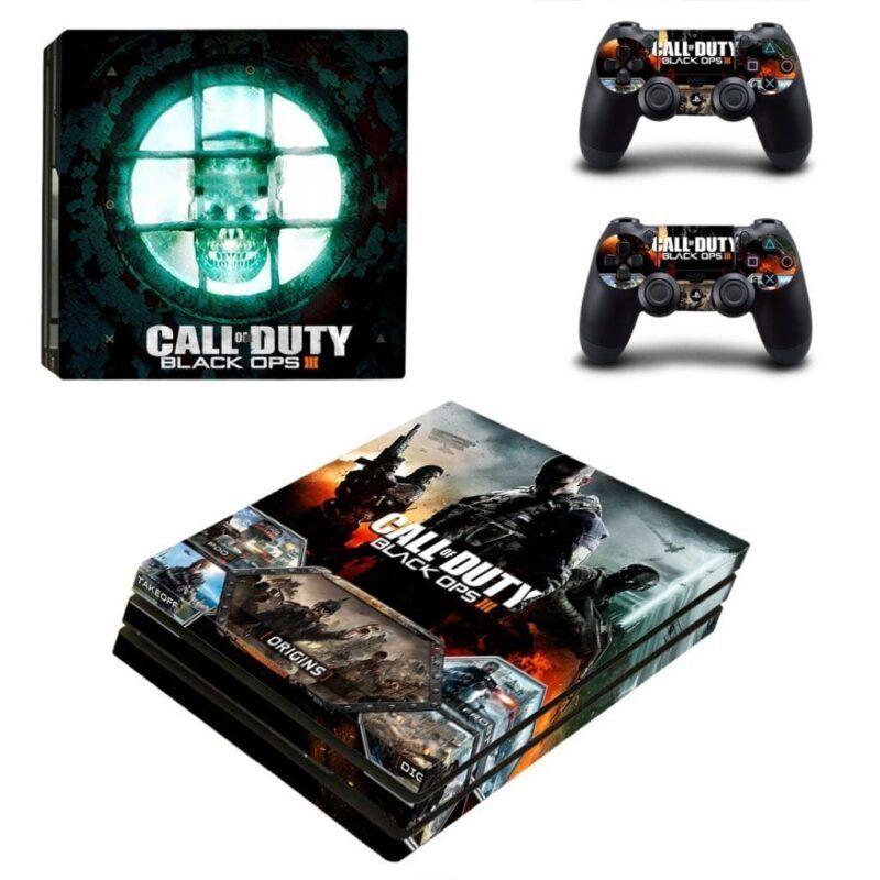 Call of Duty Black Ops III Dark Twisted Future PS4 Pro Skin