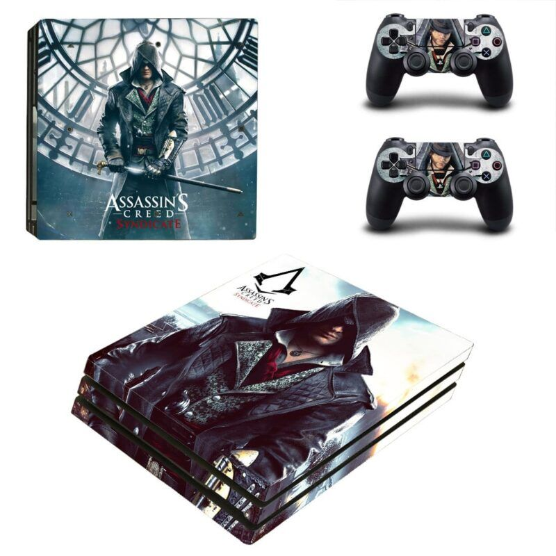 Assassin's Creed Syndicate Jacob Master Assassin PS4 Pro Skin