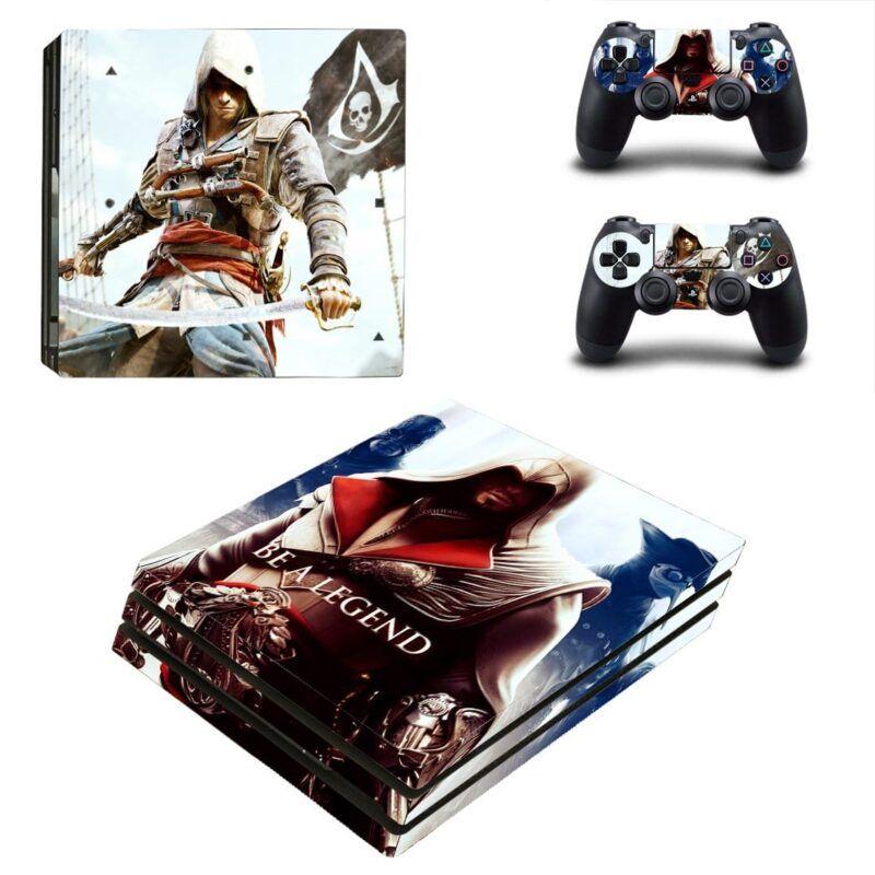 Assassin's Creed Edward & Ezio Be A Legend PS4 Pro Skin