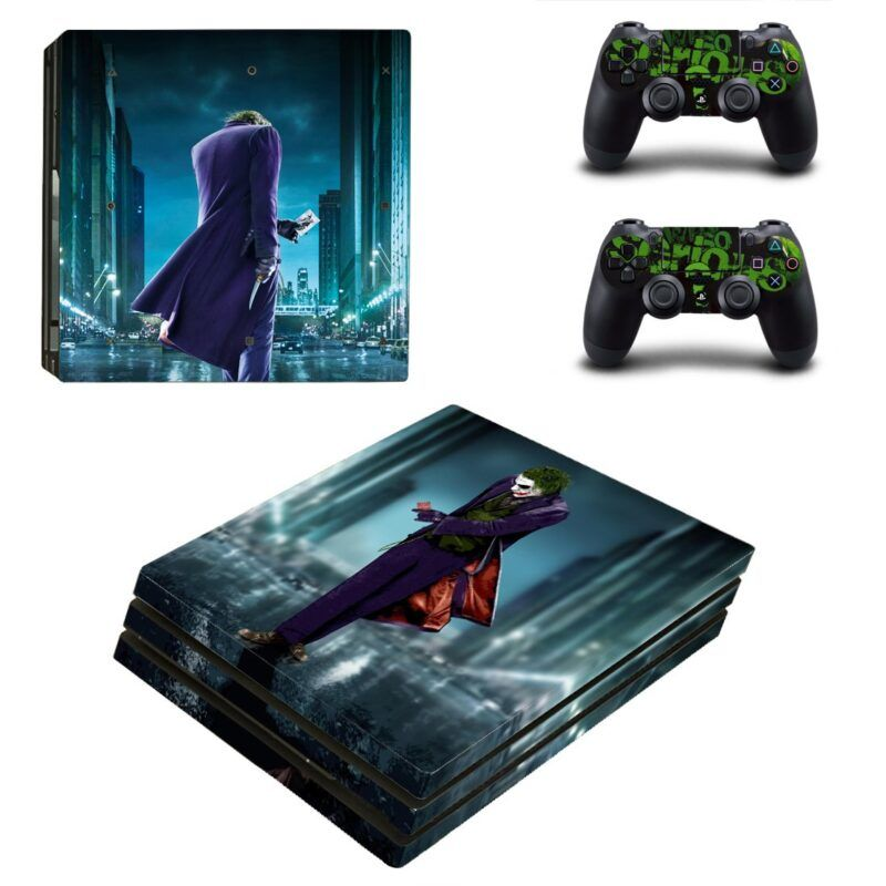 The Joker Super Villian Dope Posture Cool PS4 Pro Skin