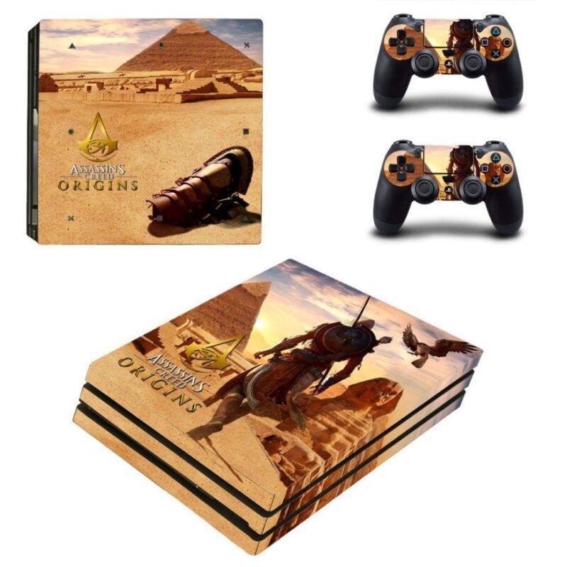 Assassin's Creed Origin Bayek & Senu Desert PS4 Pro Skin