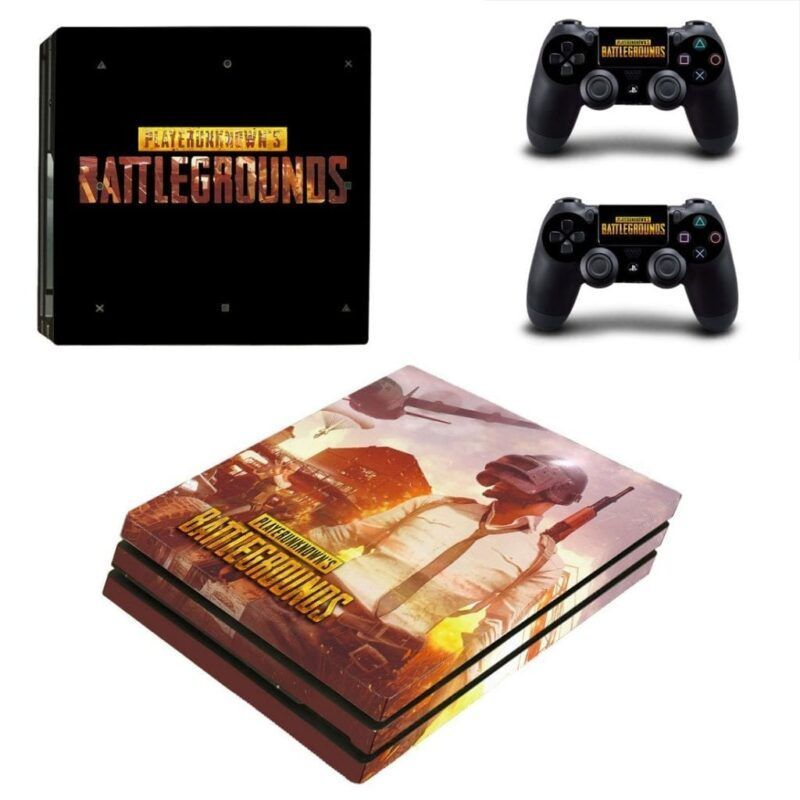 Battlegrounds PUBG Dead Match Battle PS4 Pro Console Skin