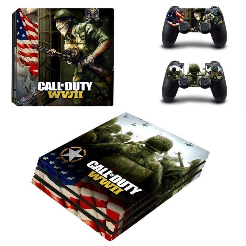 Call Of Duty World War II Brave Infantry Troops PS4 Pro Skin