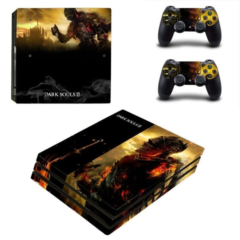 Dark Souls 3 Soul Of Cinder Epic Final Boss PS4 Pro Skin