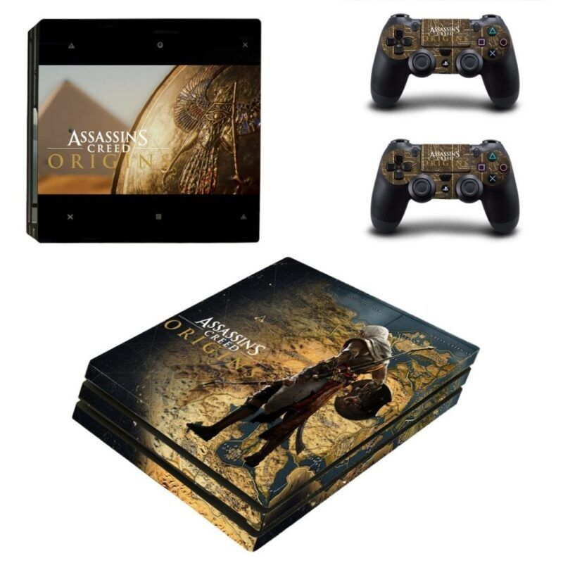 Assassin's Creed Origin Game Map Bayek's Armour PS4 Pro Skin